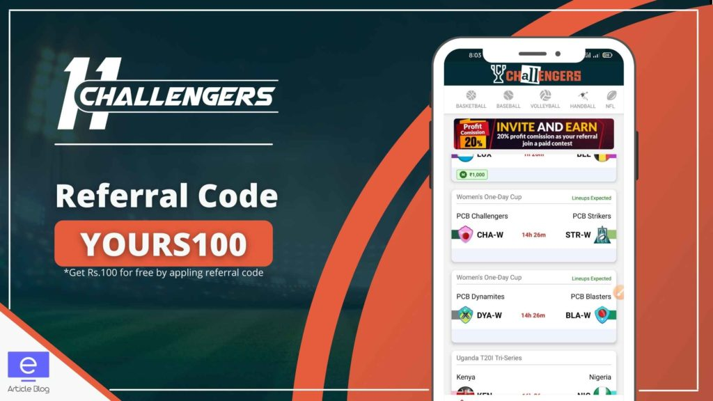 11 challengrs referral code
