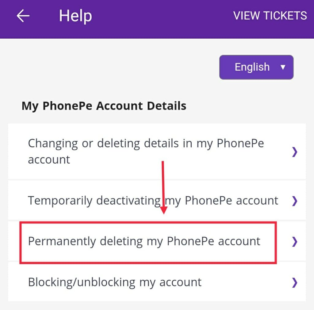 How-to-delte-permanet-phonepe-account